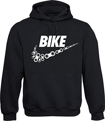Hoodie: Bike, Schwarz, L