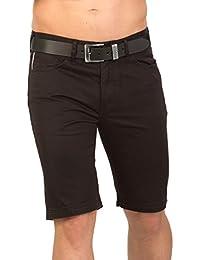 Shorts pour hommes TAVIK - noir JSM275 noir par GEAR 100% coton denim