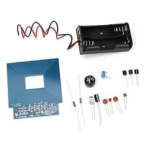 Yongse DIY Metalldetektor Kit Schatzsuche Instrument des Sicherheitsapparats Halten Sie
