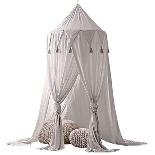 Fotografie Requisiten Krippe Moskitonetz Traum Zelt neue Kleidung der jungen Kinder Baby Baumwolle Bettdecke Dreieck Quaste Tuch Zelt Baby