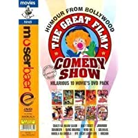 The Great Filmy Comedy Show - Hilarious 10 Movie's DVD Pack