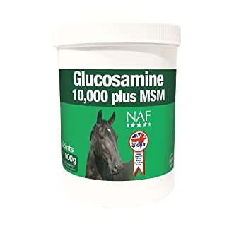 NAF - Glucosamine 10000 Plus with MSM Horse Joint Supplement x 900 Gm NAF – Glucosamine 10000 Plus with MSM Horse Joint Supplement x 900 Gm 41LafgZGRJL