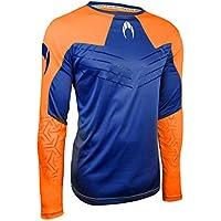Ho soccer Ikarus Camiseta de Portero Manga Larga sin Acolchado, Unisex Adulto, Naranja/