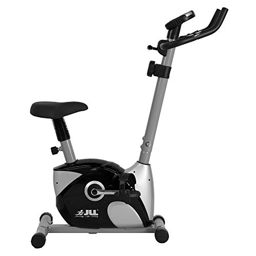 JLL® Home Exercise Bike JF100, 2019 New Adjustable Magnetic Resistance Cardio Workout,...