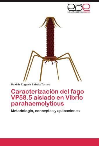 Caracterizacion del Fago Vp58.5 Aislado En Vibrio Parahaemolyticus