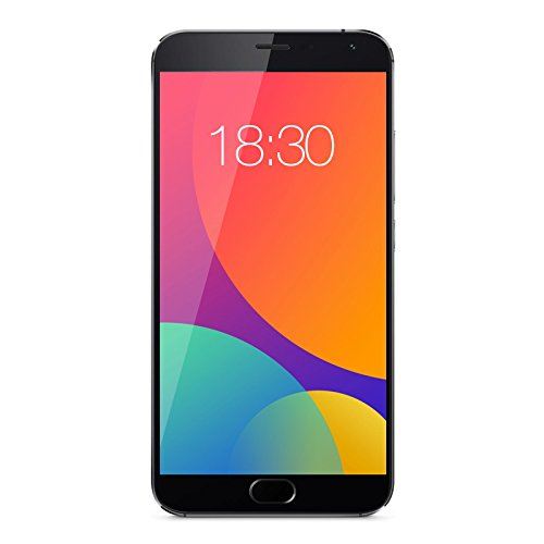 "Meizu MX5 - Smartphone de 5.5"" (4G, Octa Core de 2.2 GHz, 3 GB de RAM, 16 GB, cámara de 20.7 MP, Android 5.1) color gris"