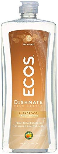 Natural Almond : 25 Oz Dishmate Dish Liquid with Natural Almond