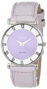 Jowissa Damen-Armbanduhr XS Roma Pastell Analog Leder J2.018.M