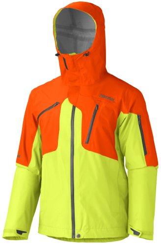 marmot-giacca-funzionale-da-uomo-big-mountain-3-strati-con-leggera-stretch-green-lime-sunset-orange-