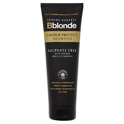 Jerome Russell Bblonde Couleur protéger Shampooing, 250 ml, Lot de 3