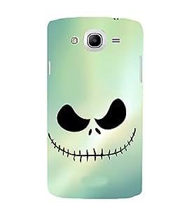 EPICCASE Evil laugh Mobile Back Case Cover For Samsung Galaxy Mega 5.8 I 9150 (Designer Case)