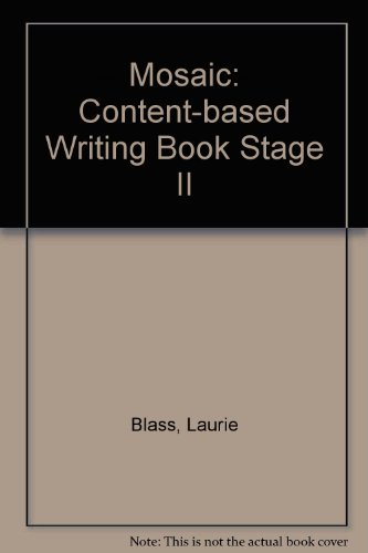Mosaic: Content-based Writing Book Stage II