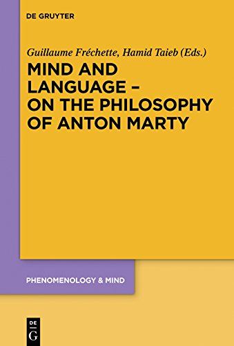 Mind and language on the philosophy of anton marty phenomenology mind and language on the philosophy of anton marty phenomenology mind book 19 ebook guillaume frchette hamid taieb amazon kindle store fandeluxe Gallery