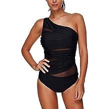 huge selection of 91c47 bc8b5 Suchergebnis auf Amazon.de für: Damen One Shoulder Badeanzug