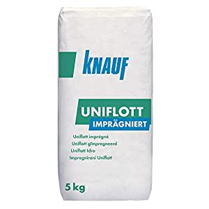 knauf uniflott impr gniert gips spachtelmasse f r feuchtr ume 5kg baumarkt. Black Bedroom Furniture Sets. Home Design Ideas