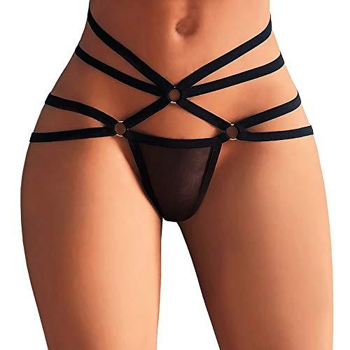 Suitray Damen Sexy Unterwäsche Frauen Erotisch Zurück öffnen Krawatte Slip Briefs String Unterhose Nachtwäsche Nachthemd Sleepwear Nachthemden (Sexy Frauen-unterwäsche-pack)