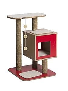 vesper arbre chat v base rouge animalerie. Black Bedroom Furniture Sets. Home Design Ideas