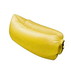 Chaise longue de plage gonflable tekon fashion creative for Housse de compression sac de couchage