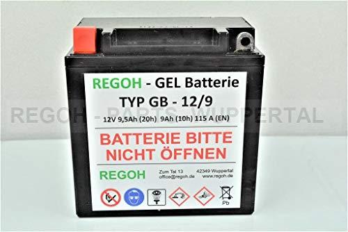 REGOH Gel Batterie passend Schneefräse 5-13 PS Teilenr. 222