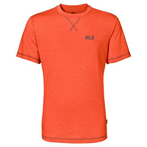 Jack Wolfskin Herren Shirt Crosstrail T orange