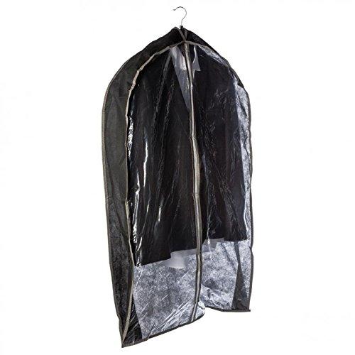Paris Prix - Housse De Rangement pour Vestes 61cm Noir