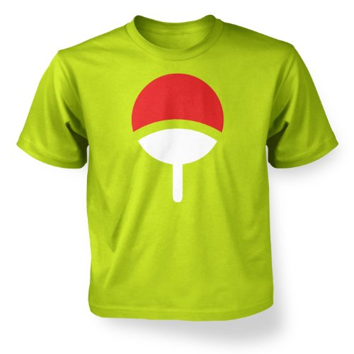 Familie Uchiha hochwertiger Kapuzenpullover Kinder T-Shirt Kiwi