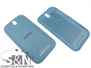 NG-Mobile Original HTC ONE SV Akkudeckel Cover Gehäuse Abdeckung Deckel inkl. NFC Antenne, blau