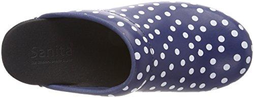 Sanita Damen Fenja Open Zoccoli Blu (blu)