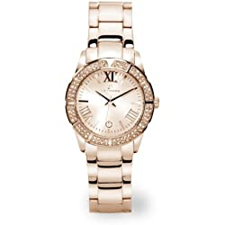 LA FROXX SMART GLAMOUR rose Damenuhr modisch analog quartz Edelstahl 7954.53.93