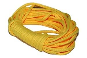 dalipo 33002 - Kordeln, Schnur 4mm, gelb