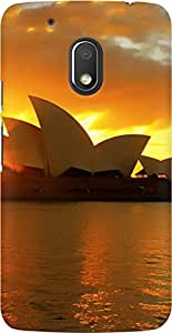 AMEZ designer printed 3d premium high quality back case cover for Moto G4 Play (australia)