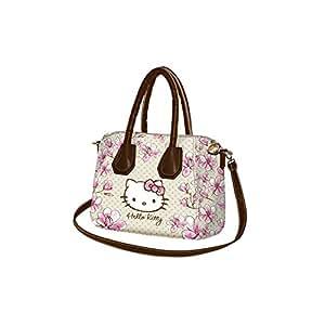 Hello Kitty magnolia Sac porté main pour Femme Bandoulière Sac à l'épaule