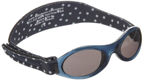 Baby Banz Navy Stars Adventure 0-2 years Oval Sunglasses