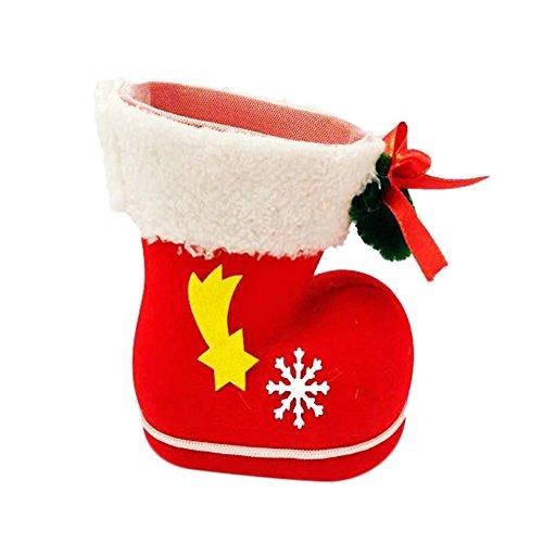 Decorazioni Natalizie X Dolci.Gespout Tabella Di Natale Decorazione Dolce Scarpe Dolci Decorazioni