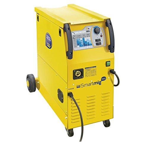 GYS MIG/MAG Schweißgerät, 30-180 A, Einphasig 230 V, gelb, Smartmig 182