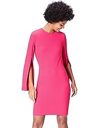 FIND Kleid Damen mit Ärmelschlitz und Bleistiftsilhouette