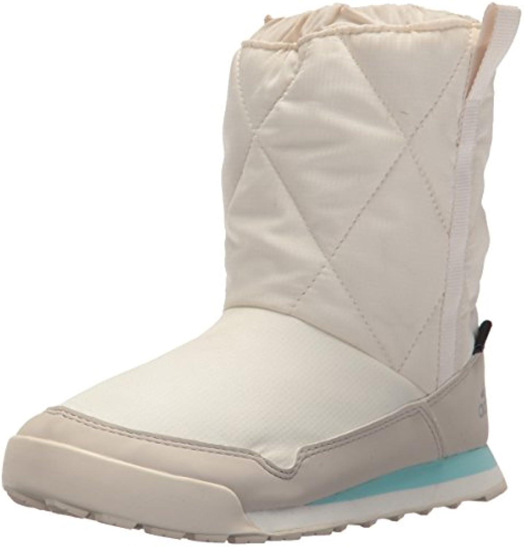 adidas outdoor unisexe enfants glisse cw snowpitch glisse enfants sur le cp k soulier, chalk Blanc  / brun clair / clair aqua, 5 enfant... 22e912