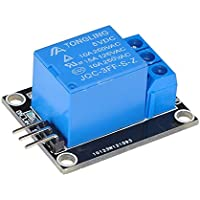 Lysignal 1 canal 5V Módulo de relé Tarjeta de relé con indicador LED para SCM Control de electrodomésticos
