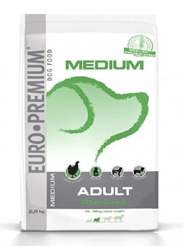 beduco secs Euro Premium Medium Adult neutralisée pour chiens 2,5kg