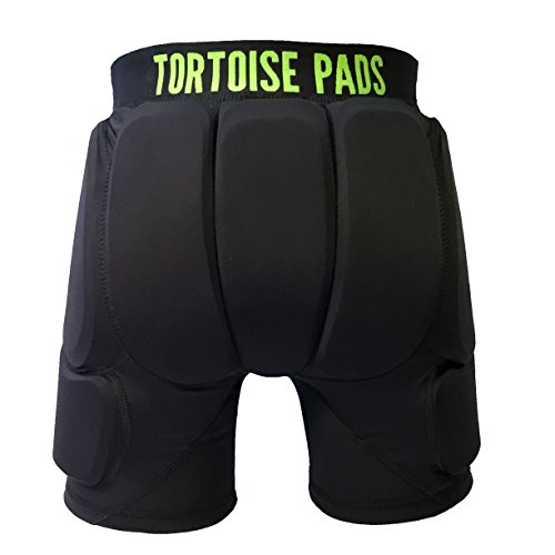 Tortoise Pads T2 High Impact Protection Padded Shorts (Adult X-Large)