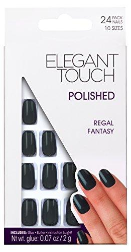 elegant-touch-faux-ongles-poli-regal-fantaisie-gris-anthracite