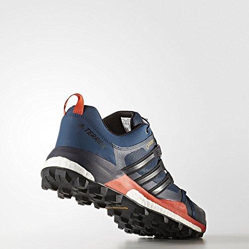 adidas Herren Terrex Skychaser GTX Trekking-& Wanderhalbschuhe, Blau, 43.3 EU blau (Azubas/Negbas/Energi)