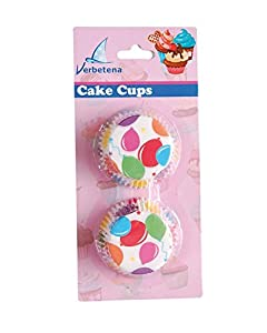 Verbetena - 48 capsulas para cakes, globos (011050004)