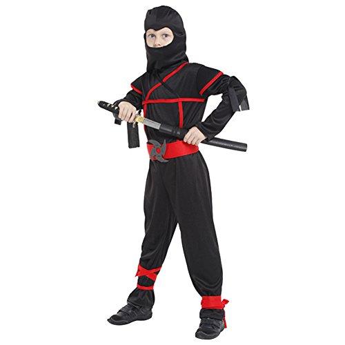 Imagen de m&a disfraz ninja japón animado niño carnaval halloween navidad cosplay costume fiestas actuación multidiseño l