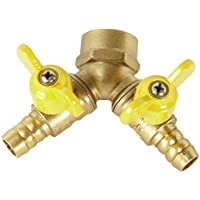"""Durable Messing 2//3//4 Abschnitte 3//4 /""""Wasserverteiler Verteiler luxor"""