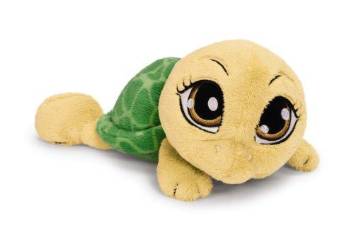 Nici 34840 - Schildkröte liegend 15 cm, goldgelb