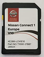 SD Karte GPS Europe 2020 V10 - Nissan Connect 1 - (Database Q3.2018)