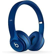 Beats Solo 2 Wireless - Auriculares de diadema abiertos, color azul