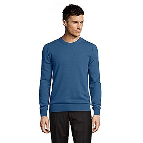 Dolce & Gabbana  Pull 100% Cachemire, Bleu, Taille 48 EU