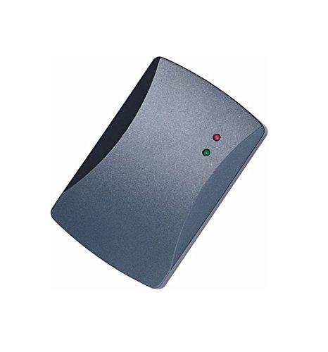 Waizmann.IDeaS RFID Leser 125kHz ID TK4100 / EM4100 / EM4102 Proximity KeyFob Kartenleser WG26 / 34 RFID-Lesegerät Türöffner Wasserdicht Wiegand 26/34 & 10x Transponder